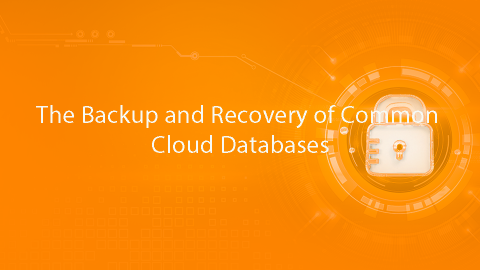 The Backup and Recovery of Common Cloud Databases